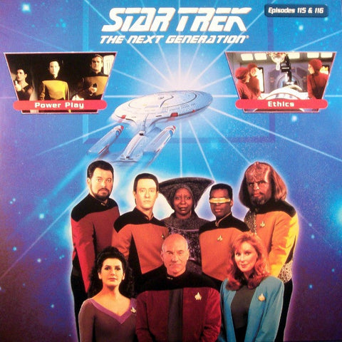 Star Trek Next Generation #115/116: Power Play/Ethics LaserDisc