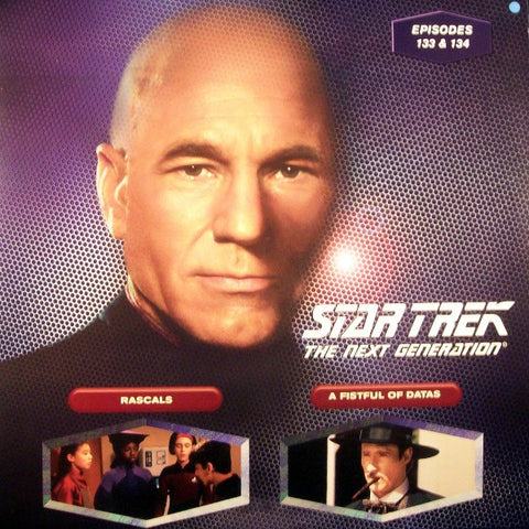 Star Trek Next Generation #133/134: Rascals/A Fistful of Datas LaserDisc