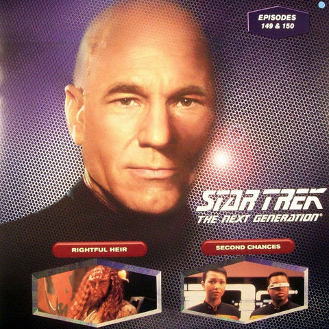 Star Trek Next Generation #149/150: Rightful Heir/Second Chances LaserDisc