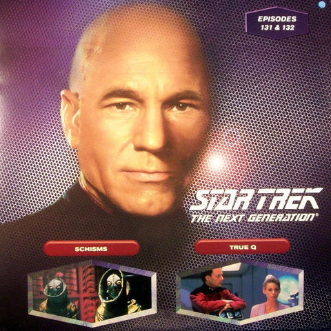 Star Trek Next Generation #131/132: Schisms/True Q LaserDisc