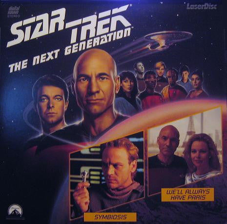 Star Trek Next Generation #023/24: Symbiosis/We'll Always Have Paris LaserDisc