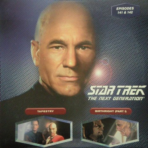 Star Trek Next Generation #141/142: Tapestry/Birthright #1 LaserDisc