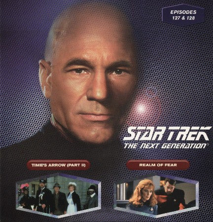 Star Trek Next Generation #127/128: Time's Arrow #2/Realm of Fear LaserDisc