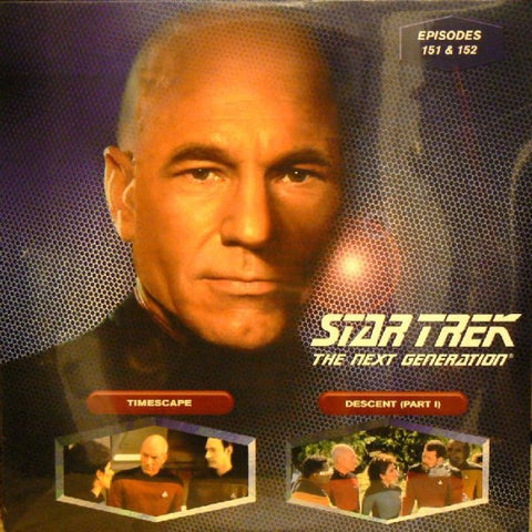 Star Trek Next Generation #151/152: Timescape/Descent #1 (1998) LaserDisc