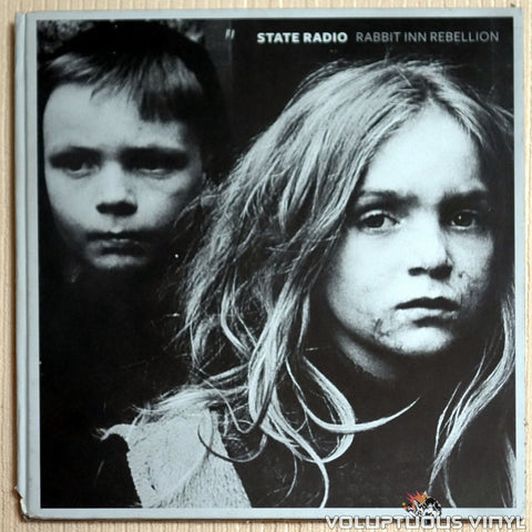 State Radio ‎– Rabbit Inn Rebellion - Vinyl Record - Front Cover