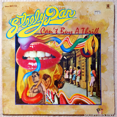 Steely Dan ‎– Can't Buy A Thrill vinyl record front cover