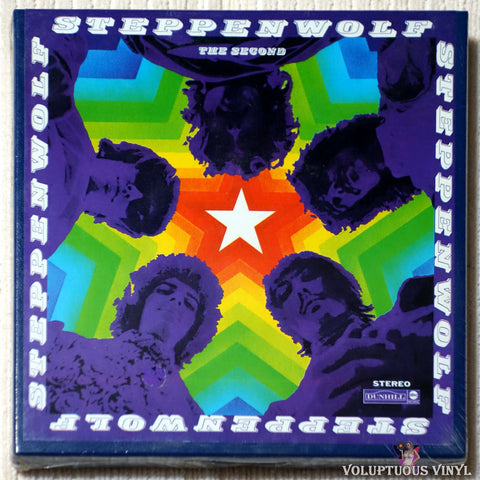 Steppenwolf ‎– The Second reel to reel front cover