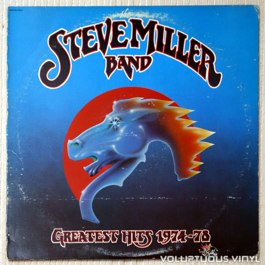 Steve Miller Band ‎– Greatest Hits 1974-78 - Vinyl Record - Front Cover