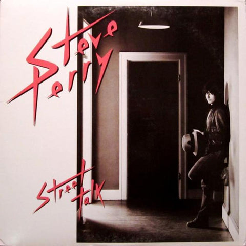 Steve Perry ‎– Street Talk vinyl record front cover