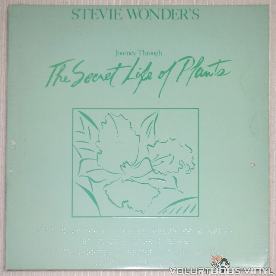 Stevie Wonder ‎– Journey Through The Secret Life Of Plants - Vinyl Record - Front Cover