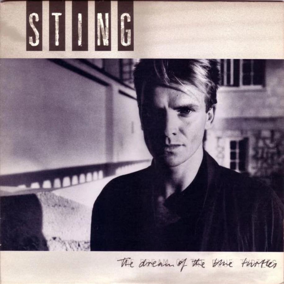Sting ‎– The Dream Of The Blue Turtles vinyl record front cover