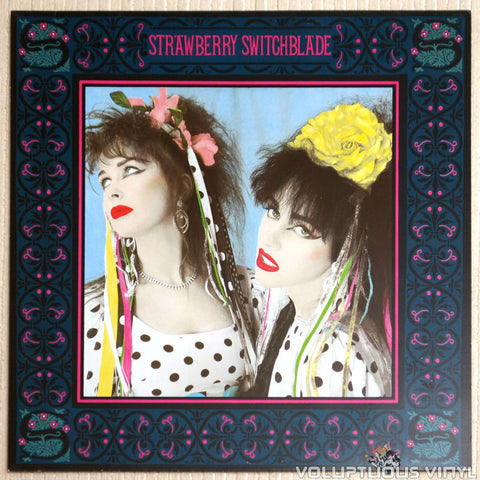 Strawberry Switchblade ‎– Strawberry Switchblade - Vinyl Record - Front Cover
