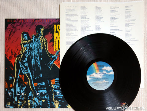 Various ‎– Streets Of Fire Soundtrack - Vinyl Record