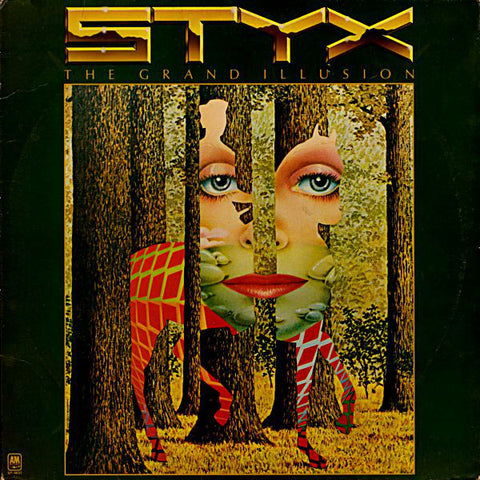 Styx ‎– The Grand Illusion (1977) Cheap Vinyl Record