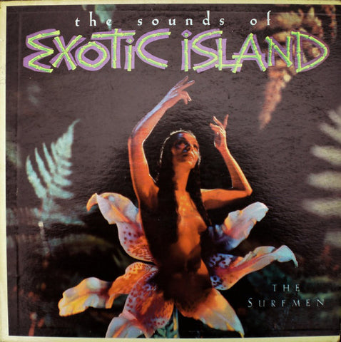 The Surfmen ‎– The Sounds Of Exotic Island (1960) MONO Cheap Vinyl Record