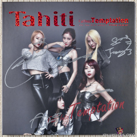 Tahiti ‎– Fall Into Temptation (2015) Autographed, Korean Press