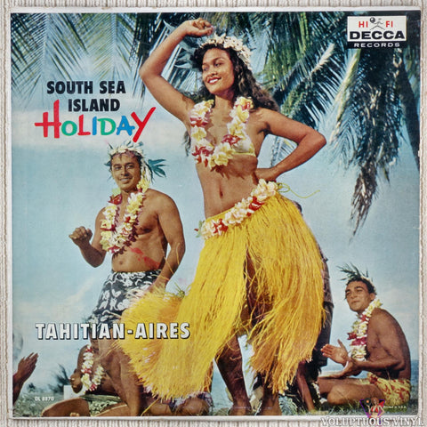 Tahitian-Aires ‎– South Sea Island Holiday vinyl record front cover