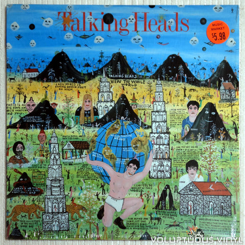 Talking Heads ‎– Little Creatures - Vinyl Record - Front Cover
