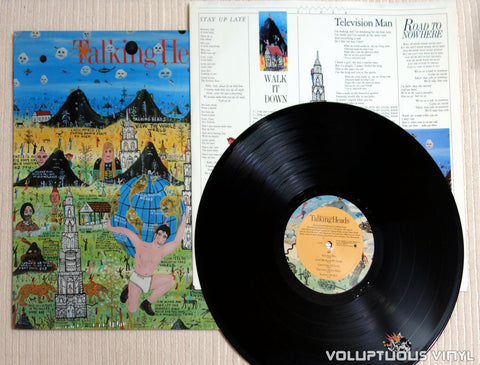 Talking Heads ‎– Little Creatures - Vinyl Record