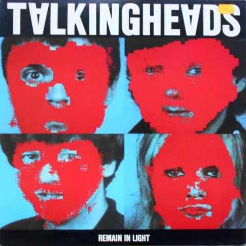 Talking Heads ‎– Remain In Light vinyl record front cover
