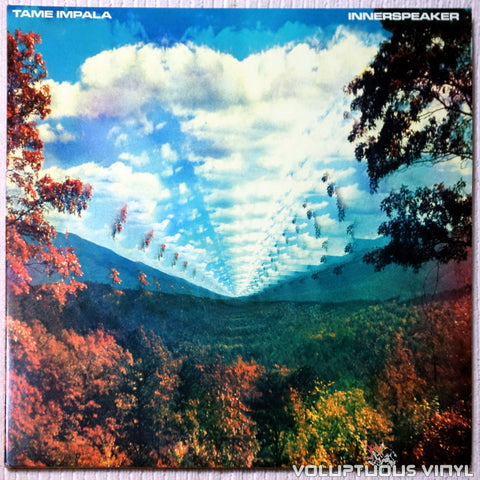 Tame Impala ‎– Innerspeaker vinyl record front cover