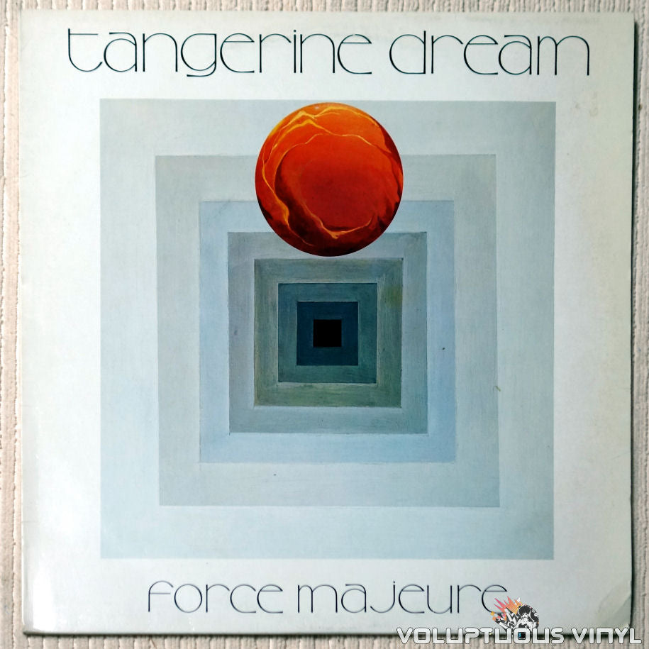 Tangerine Dream ‎– Force Majeure - Vinyl Record - Front Cover