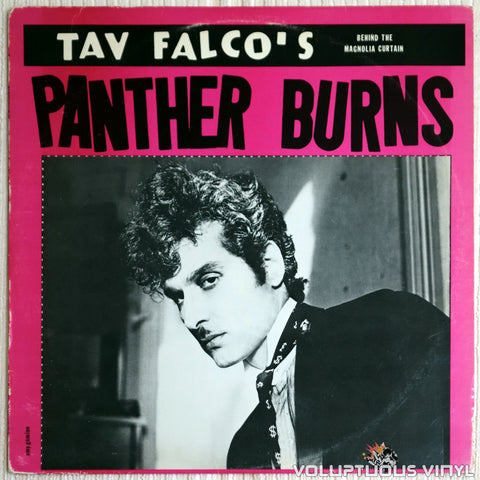 Tav Falco's Panther Burns ‎– Behind The Magnolia Curtain - Vinyl Record - Front Cover