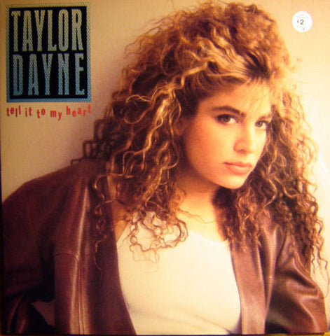Taylor Dayne ‎– Tell It To My Heart (1988) Cheap Vinyl Record