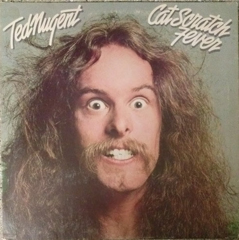 Ted Nugent ‎– Cat Scratch Fever (1977) Cheap Vinyl Record