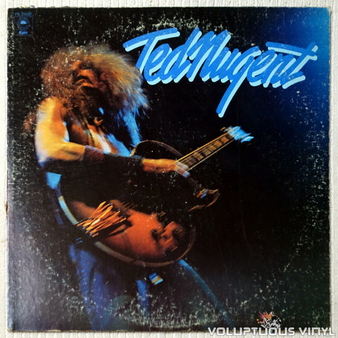 Ted Nugent ‎– Ted Nugent - Vinyl Record - Front Cover