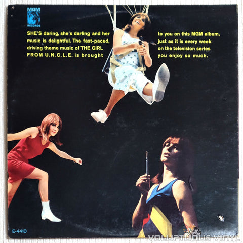 Teddy Randazzo ‎– The Girl From U.N.C.L.E. - Vinyl Record - Back Cover