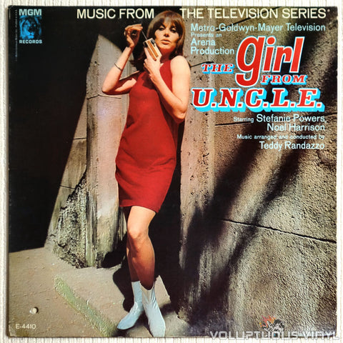 Teddy Randazzo ‎– The Girl From U.N.C.L.E. - Vinyl Record - Front Cover