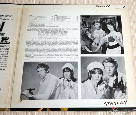 Teddy Randazzo ‎– The Girl From U.N.C.L.E. - Vinyl Record - Gatefold
