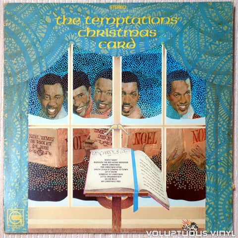 The Temptations ‎– The Temptations' Christmas Card (1970)