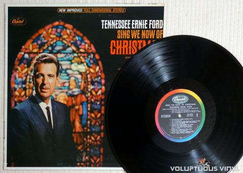 Tennessee Ernie Ford ‎– Sing We Now Of Christmas - Vinyl Record