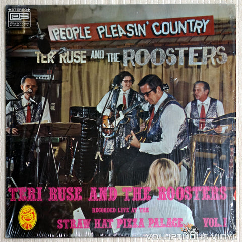 Teri Ruse And The Roosters ‎– People Pleasin' Country Vol. 1 - Vinyl Record - Front Cover