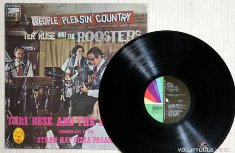 Teri Ruse And The Roosters ‎– People Pleasin' Country Vol. 1 - Vinyl Record