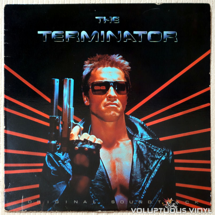 Various ‎– The Terminator Original Soundtrack - Vinyl Record - Front Cover