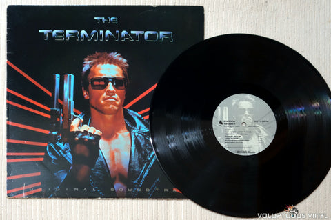 Various ‎– The Terminator Original Soundtrack - Vinyl Record