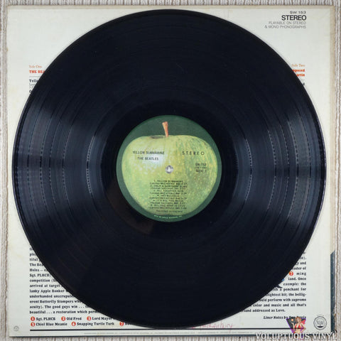 The Beatles ‎– Yellow Submarine vinyl record