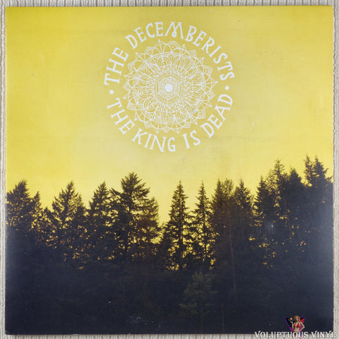 The Decemberists ‎– The King Is Dead vinyl record front cover