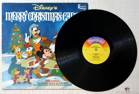 The Disneyland Children's Sing-Along Chorus ‎– Disney's Merry Christmas Carols vinyl record