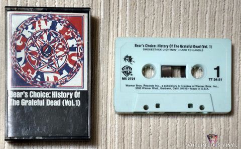 The Grateful Dead ‎– Bear's Choice: History Of The Grateful Dead, (Vol. 1) (1988)