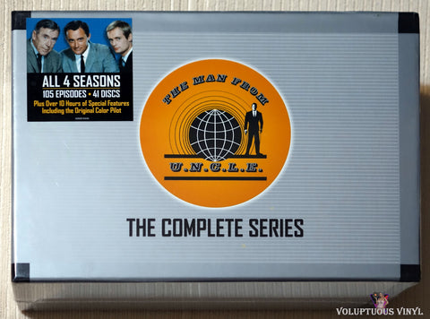 The Man From U.N.C.L.E. - The Complete Series (2008) 41 DVD Set, Collector's Briefcase Edition SEALED