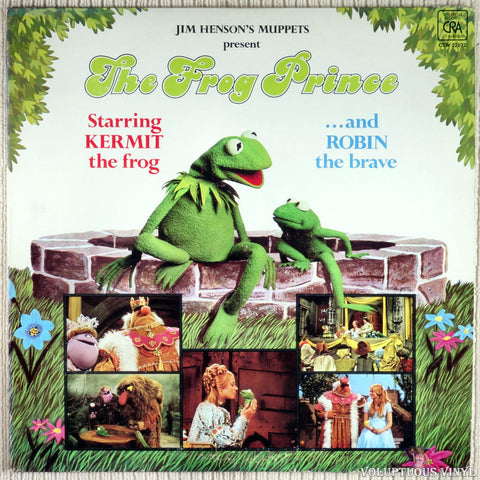 The Muppets ‎– The Frog Prince vinyl record front cover