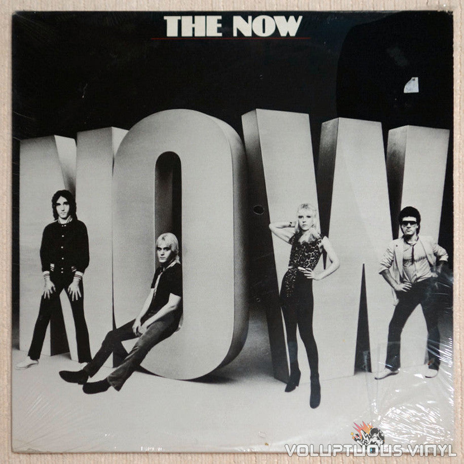 The Now Self Titled Vinyl Record Front Cover