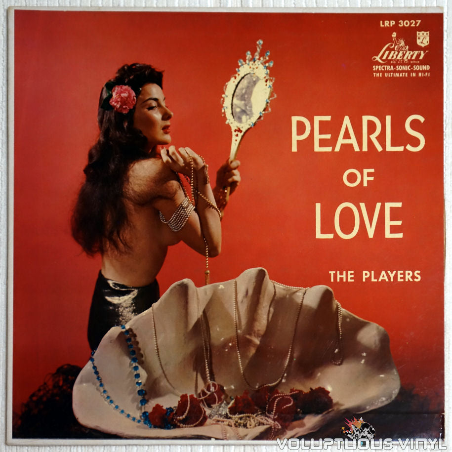 The Players ‎– Pearls Of Love - Vinyl Record - Front Cover