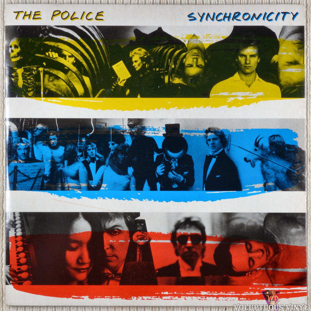 The Police ‎– Synchronicity vinyl record front cover