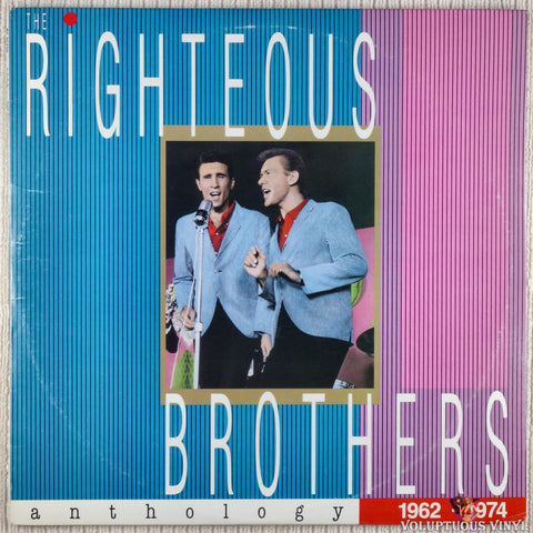 The Righteous Brothers ‎– Anthology (1962-1974) (1989) 2xLP