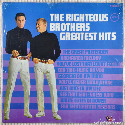 The Righteous Brothers ‎– Greatest Hits (?)